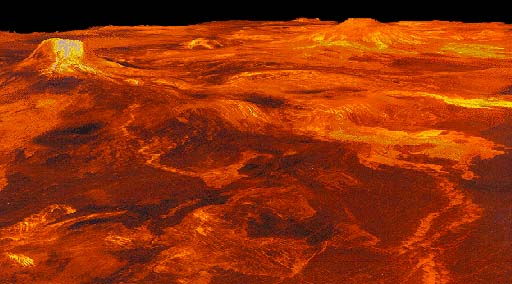 Surface Features of Venus