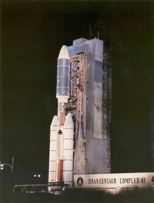 NASA Voyager 2 Launch